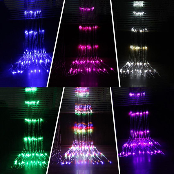 how to decorate with icicle lights.htm 6mx3m 640led 8 modes waterfall curtain icicle led string light  curtain icicle led string light