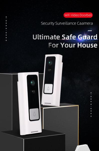 Vikewe M14 Vidéo Sonnette Smart Wireless WiFi Sécurité Sonnette visuelle Enregistrement Accueil Moniteur Night Vision interphonie téléphone dvr voiture