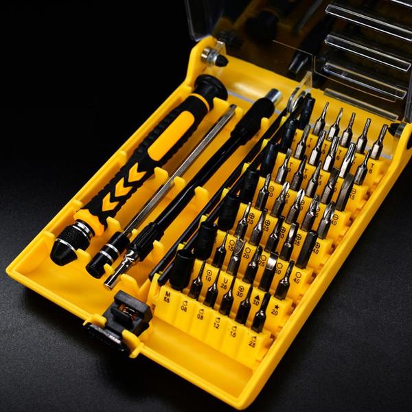 Многофункциональный 45 в 1 Набор отверток мягкий удлинитель + жесткий удлинитель прецизионный ноутбук / мобильный телефон / ремонт часов