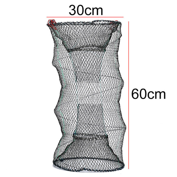 Float Fishing Net Cage Cast Catcher Trap Eel Prawn Shrimp Accessory Replacement Crab Crayfish Useful