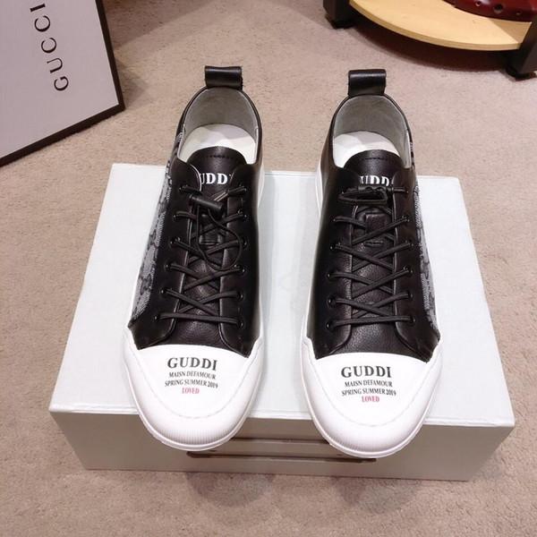 2019l chaussures de luxe décontractées pour hommes de luxe