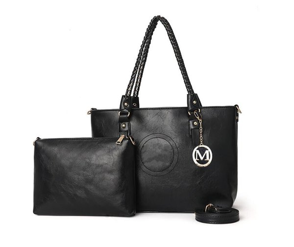 luxe vente chaude Mode féminine Lady sac à main de casual sacs Hobo dames concepteur sac à main en cuir PU sac à bandoulière fourre-tout porte-monnaie femme 6821