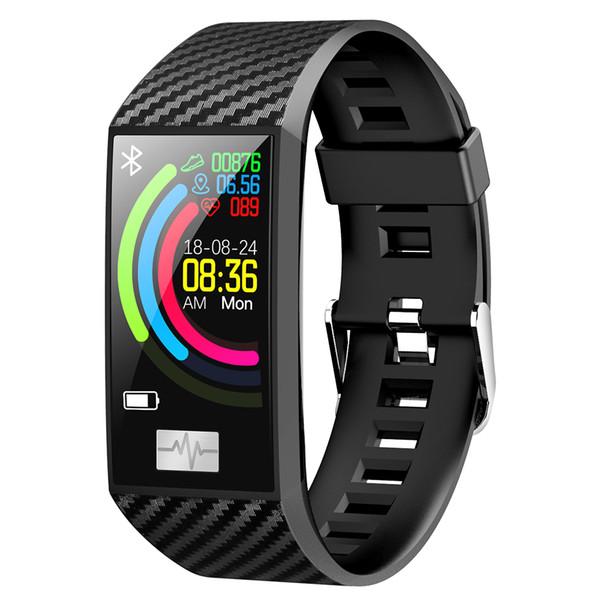 DT58 Smart-Armband Big Screen Activity Fitness Tracker ECG Band Herzfrequenzuhr Sport Smart-Armband