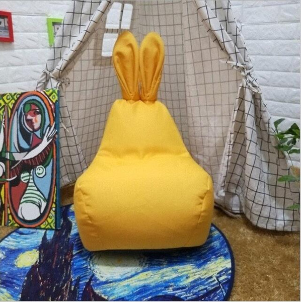Bean Bag Rabbit ears Lounger Cover living room furniture Sofa Chairs Without Filling Beanbag Beds lazy seat zac kids indoor Beanbags