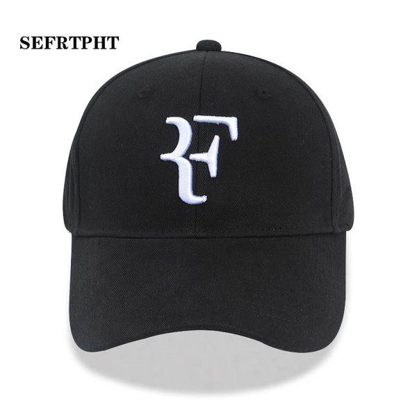 2019 Tenis Yıldızı Roger Federer Baba Şapka Spor beyzbol şapkası% 100% pamuk 3D nakış Unisex Snapback Kapaklar Tenis şapka F Şapkalar kemik