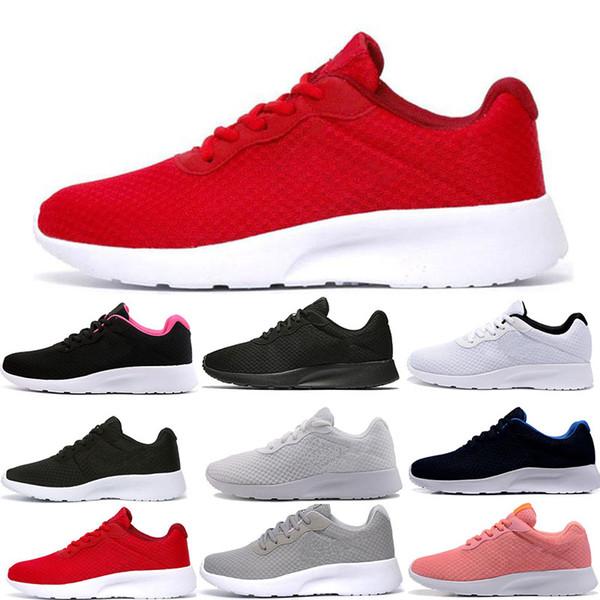 2019 en kaliteli Olimpik Spor Ayakkabı erkekler sneakers Tasarımcı Ayakkabı Koşu Koşu açık Yürüyüş tanjun bayan ayakkabıları tepki boy londra 36-45