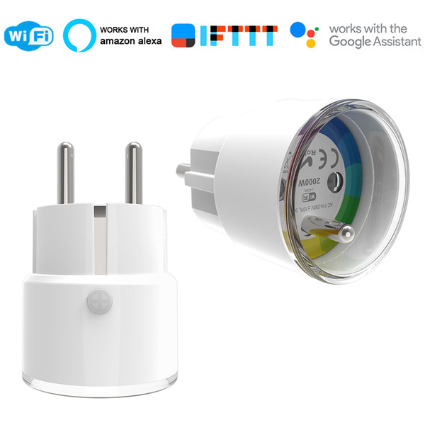 FR Smart Plug Smart France Plug IFTTT Remote Control WiFi Switch Mini Socket Outlet Timer Support Amazon Alexa Google Home
