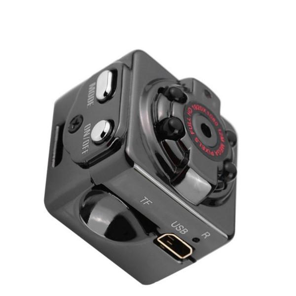 Yikacam SQ8 inteligente 1080p HD Pequeño Secreto micro de la cámara de vídeo de la leva de visión nocturna inalámbrica cuerpo DVR DV Tiny minicámara Microcámaras