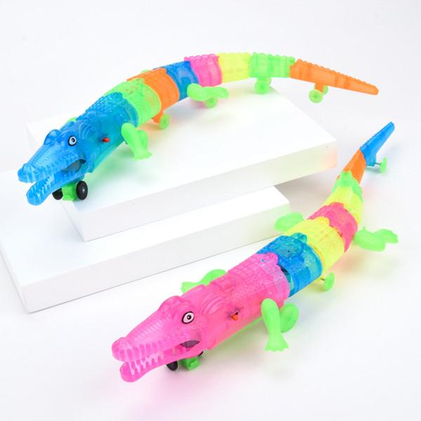 Горячие LED мигает игрушки Зажгите растущего животное crocodileToy ребенка ночного клуба Party Fun подарки Xmas Открытыми
