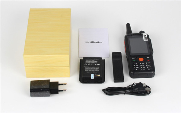 4G Zello PTT Walkie Talkie Smartphone 2.4 Inch Alps F25 Mobile Phone 1GB RAM 8GB ROM Android 5.1 Quad Core 3500mAh