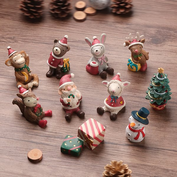 Cute Christmas Gifts For Girlfriend.Christmas Gifts Cute Little Animals Girl Room Decorations Creative Bedroom Desktop Resin Trinkets Fun Unusual Gifts Funniest Gag Gifts From