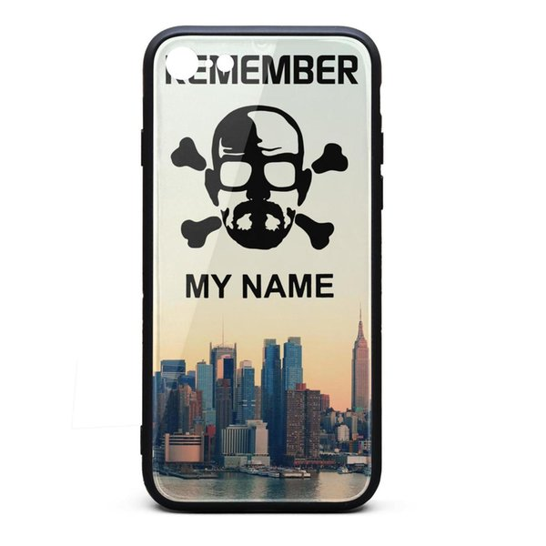 Breaking Bad Remember My Name iphone cases 8 cute protective case personalised phone cases fancy nice case fashion classic scratch-resistant