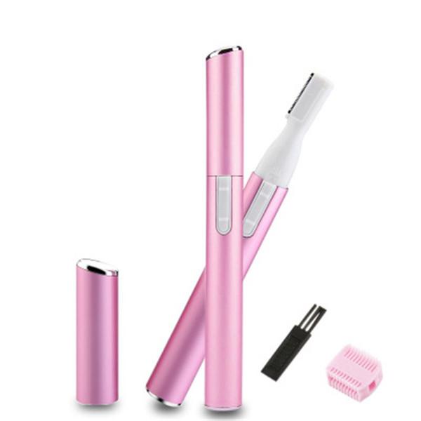 Épilateur électrique Rasoir imperméable portatif Coupe-sourcils Épilateur pour le corps Rasoir Bikini Rasoir Épilateur Mini pour les femmes R0541