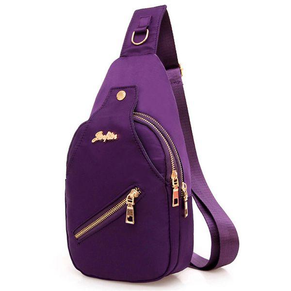 2018 New Women Chest Bags Casual Crossbody Messenger Bags for Women Ladies Nylon Waterproof Small Cross Body Sling Shoulder