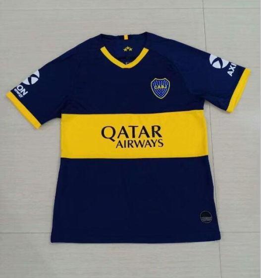2019 BOCA JUNIORS Camisolas de futebol 6 CONMEBOL GOLD CUP TEVEZ camisola azul branco MARADONA GAGO CARDONA CAMISA CAMPEÃO Camisas camisas de futebol