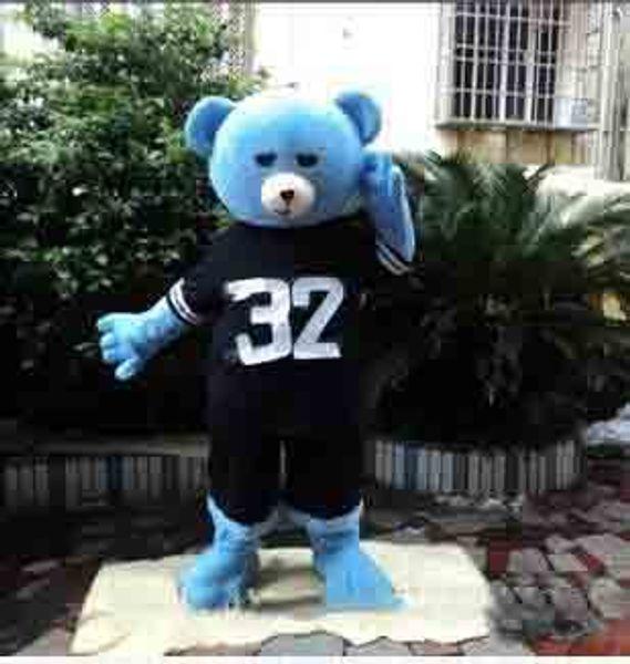 2019High quality hot Teddy Bear of TED Adult Size Halloween Cartoon Mascot Costume Fancy Dress
