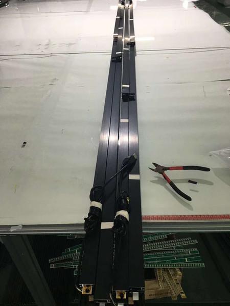 Marco táctil ir de 153 pulgadas, 10 puntos, panel táctil, kit de superposición táctil infrarroja, pared de video de pantalla táctil de empalme de 2 * 3 55 pulgadas