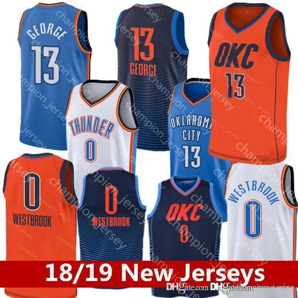 35da312e4 Very popular 18/19 city Jerseys Russell Westbrook Men Youth Paul George  Basketball Jersey KIDS