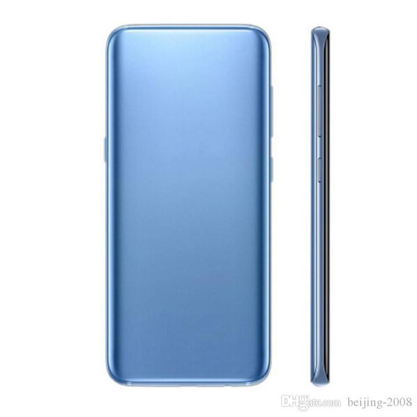 Goophone s10 + 6.3 inç 10 + MTK6580 1G RAM 4G ROM Tam Ekran Cep Telefonu Gösterisi Sahte 4G LTE 512 gb Android 7.0 Açık