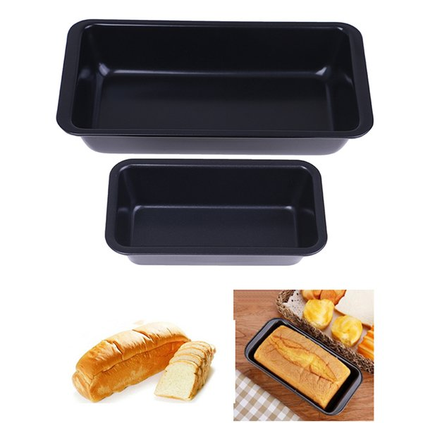 Rectangle Non-stick Bread Toast Mould Bread & Loaf Pans Baking Tools Carbon Steel Baking Cake Mold Kitchen Tools Size S L