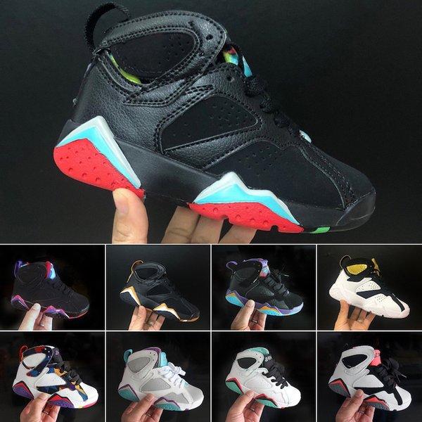 Çocuk Sneakers sıcak Kalite Çocuklar 7 VII Basketbol Ayakkabıları Erkek Kız Çocuk Atletik basketbol ayakkabıları 28-35