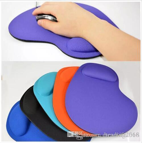 Design New EVA Silicone Soft Mouse Pad with Wrist Rest Support Mat for Gaming PC Laptop Mac