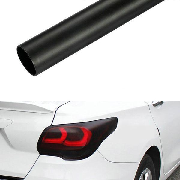 30CM Matte Smoke lumière Film voiture noir mat Tint phares antibrouillard Feu arrière Vinyle Film Lampe arrière teinter Automobiles Film