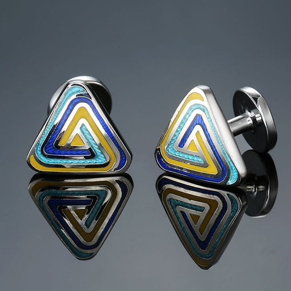 Wholesale Fashion Designer Cufflinks Studs Vintage Pattern Cufflinks French Shirt Cuff Buttons Women Mens Jewelry Gift Free Shipping