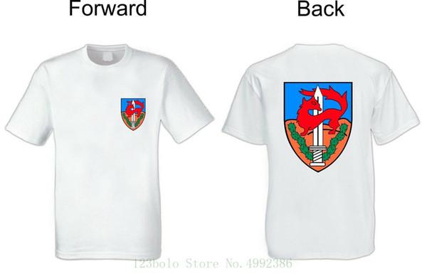 T Shirt Army Dry Fit Manica corta Bianco Israel Defence Forces Idf Givati Unità Teenage Natural Cotton Blacked