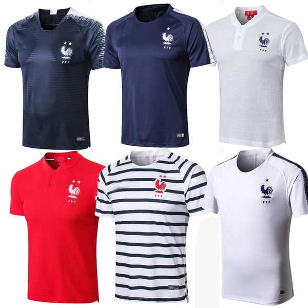 Francia jogging pant  kit  maillot de foot football training polo mbappe equipe de france 2018 2 etoile  mbappe  occer training tee  hirt