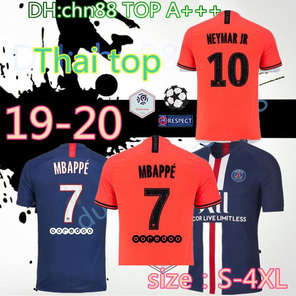 größe: S-4XL 19 20 PSG fußball trikot CAVANI VERRATTI thailand 2019 2020 paris fußballtrikot SILVA Camiseta de futbol
