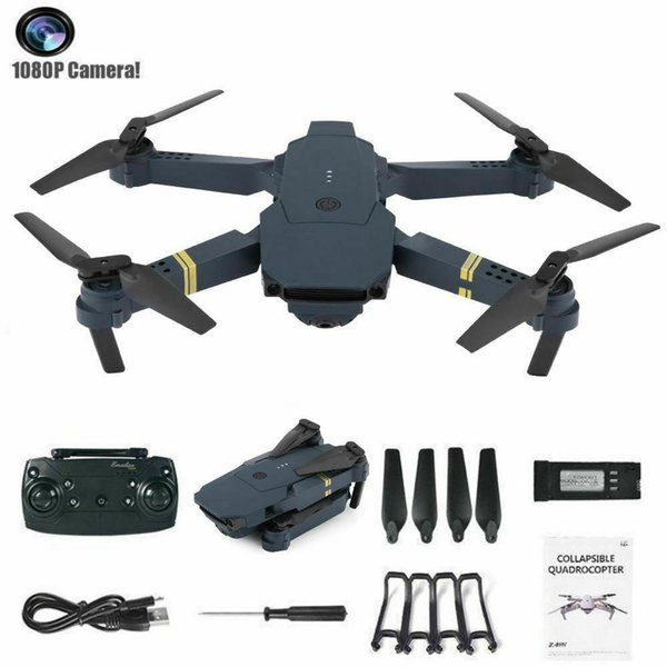 Drohne x Pro 2.4G Selfi WIFI FPV mit 1080P HD Kamera faltbarem RC Quadcopter Spielzeug