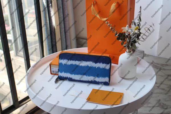 5 M68841 블루 편지 꽃 인쇄