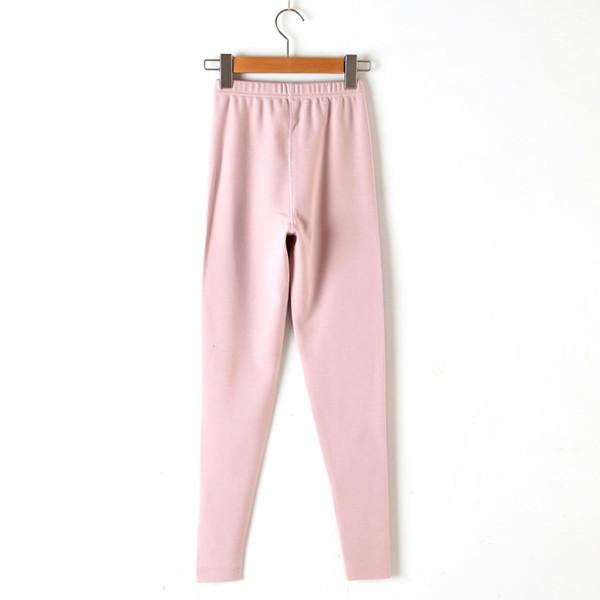 Warm Winter Fluffy Pink Seamless Leggings for Girls Female Plus Size 2xl 3xl Fashion Women Casual Slim Thermal Leggings Homewear