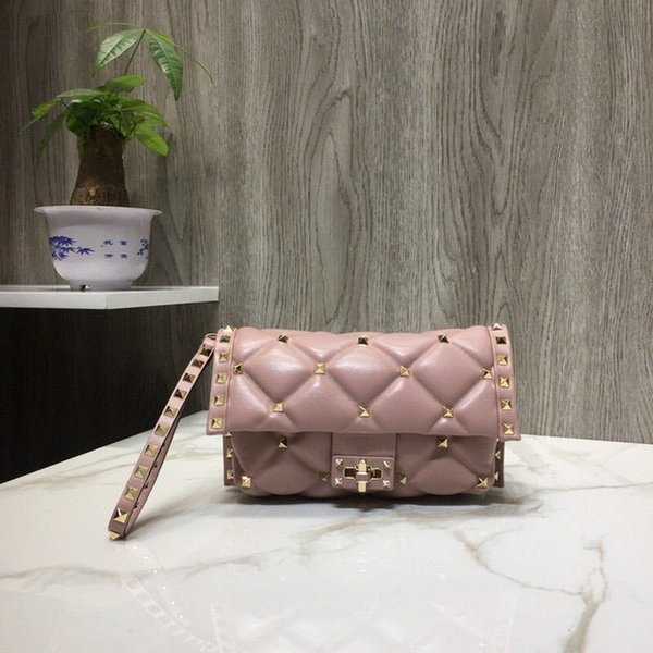 Hot sale Casual Tote purse famous brands shoulder bags real leather handbag fashion crossbody bag ladies High quality Classic pink