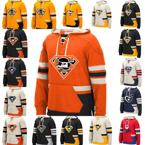 74cd810fbaa Ice Hockey Jersey Hoodies Custom-Made Any Name Any Number Logo Stitched  sportswear Hockey Jersey S-4XL Free Shipping