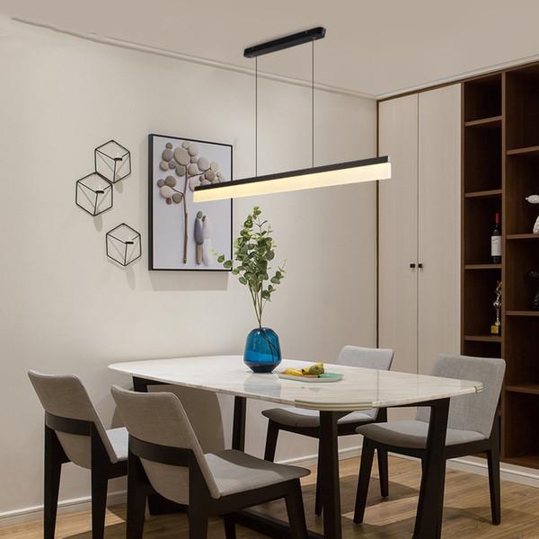 Compre Moderno Minimalista Led Simple Desgin Luces De Aluminio ...