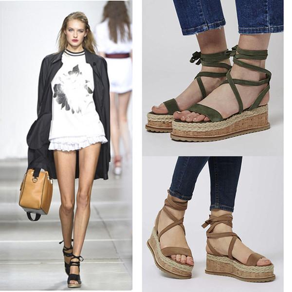 Yeni bayan sandalet bahar ve yaz moda Çapraz bağlı serin ayakkabı kadınlar için yüksek kalite Ayak Bileği Kayışı ayakkabı 4 renkler mevcut
