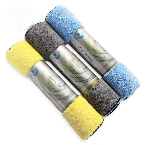 Car Cleaning Towel Super Absorbent Towel Microfiber High And Low Hair Cleaning Car Supplies