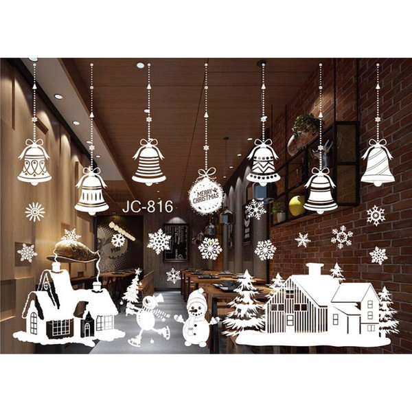 home wall of.htm 2020 christmas window stickers wall christmas wall decor merry  2020 christmas window stickers wall