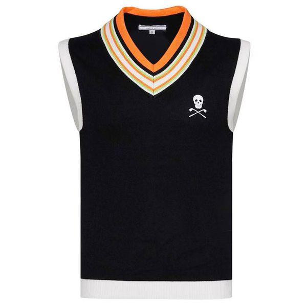 top popular New men Sport Sleeveless vest MARK&LONA Golf sweater vest 3color Golf clothes S-XXL Sporin choice Leisure Golf vest Free shipping 2019
