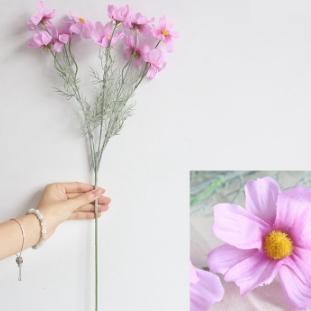# 2 Fleur de chrysanthème en soie