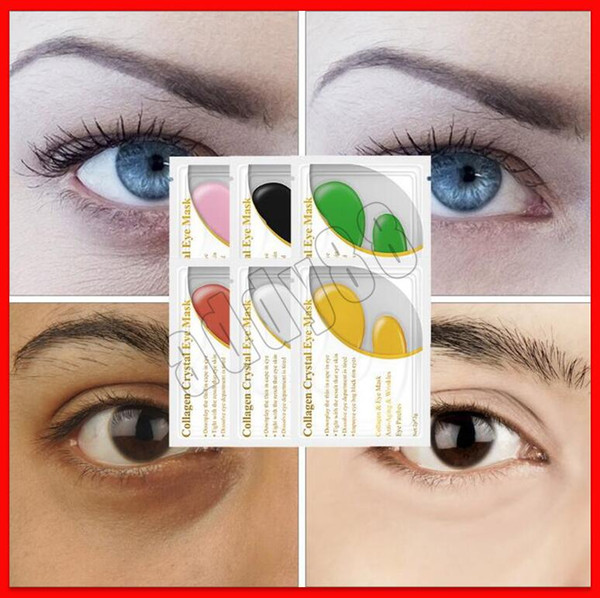 top popular 2019 Skin Care Eyes Cares LANBENA 24K Gold Eye Mask Collagen Eye Patches Anti Dark Circle Puffiness Eye Bag Moisturizing Skin Care 2021