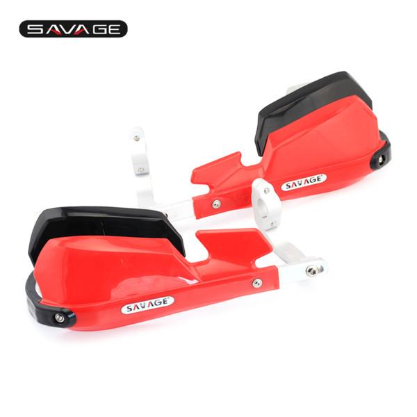 Manubrio rosso Protezione paramano per BMW R1200R R1200 R 2007-2014 Accessori per moto Manubrio
