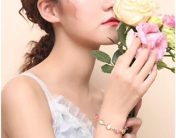 Cateye Bracelet Lady Small Fresh Hand Ornaments Crossborder Hot Style Accessories Jewelry Manufacturers Wholesale 2019 Korean Version Of