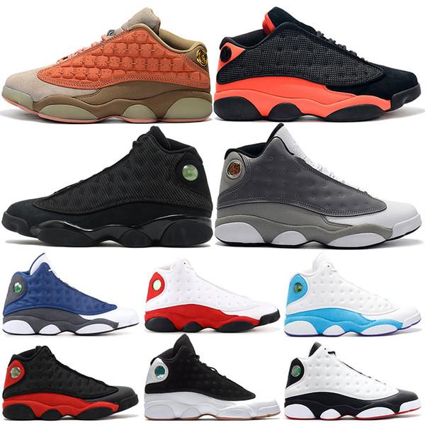 13 13s Mens Basketball Schuhe Melo Klasse von 2003 Phantom Chicago GS Hyper Royal schwarze Katze gezüchtet Brown Olive Wheat DMP Sport Turnschuhe