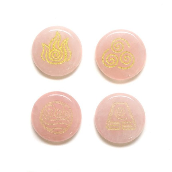Розовый кристалл 5x25mm