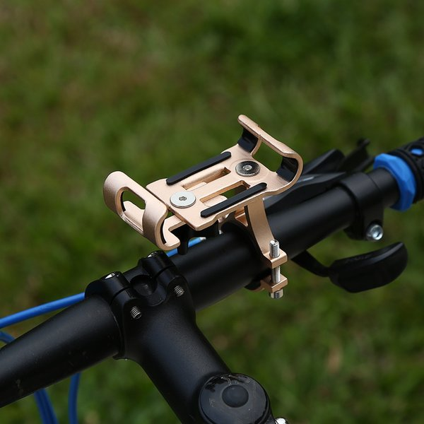 universal Bicycle cellphone Mount Bracket Handlebar Clip Stand Aluminum Alloy Phone Holder Anti-Slip Bike for iPhone Samsung Bicicleta