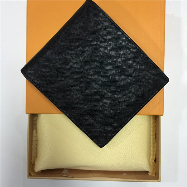 Tasarımcı cüzdan erkek tasarımcı cüzdan lüks çantalar zippy cüzdan erkek kısa cüzdan tasarımcı kart tutucu erkekler uzun katlanmış çantalar m46002