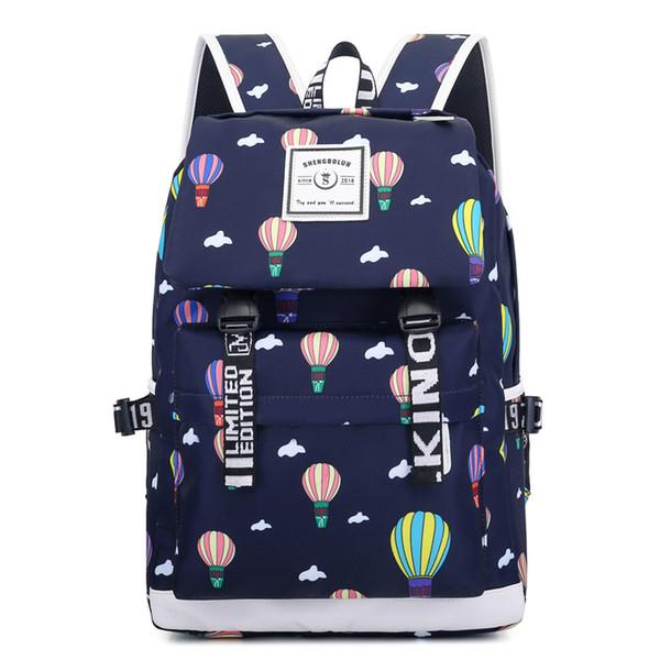 fashion printing school backpacks teenager girls waterproof kids bags children school bags female casual travel laptop backpack